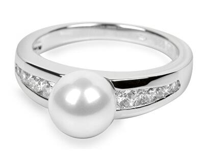 Silver Cat Stříbrný prsten s krystaly SC076