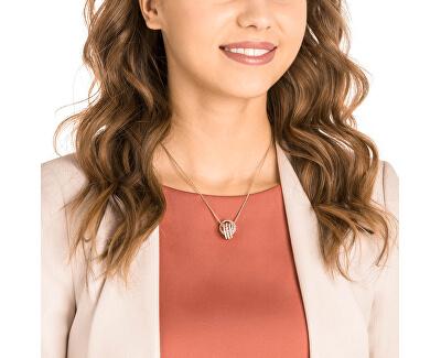 Luxusní náhrdelník s třpytivým přívěskem FURTHER 5419853