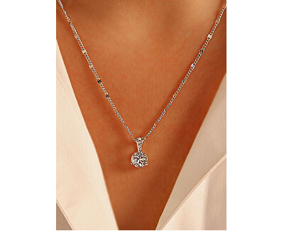 Třpytivý náhrdelník SOLITAIRE 1800045