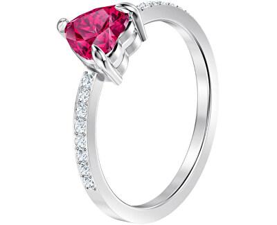 Třpytivý prsten se srdíčkem ONE 5474942