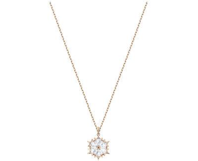 Elegantní náhrdelník s třpytivým krystalem MAGIC 5428431