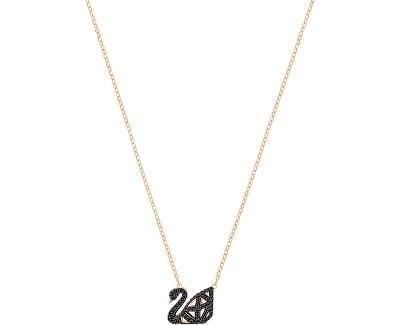 Luxusní náhrdelník s oboustrannou labutí SWAN 5281275