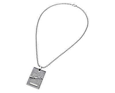 Pánský ocelový náhrdelník Tech 0J03