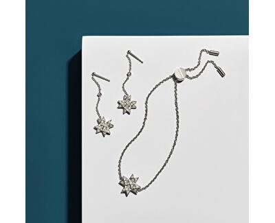 Brățară din oțel cu cristale stea SKJ1261040