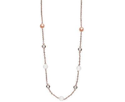 Skagen Dámsky oceľový náhrdelník s kryštálmi SKJ0963791