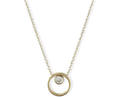 Skagen Dámsky oceľový náhrdelník v zlatej farbe SKJ0837710