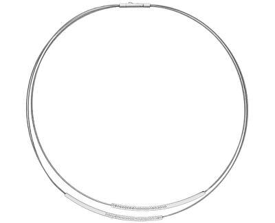 Colier elegant din oțel cu cristale SKJ1116040