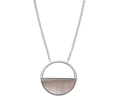 Colier din oțel cu sidef SKJ1119040
