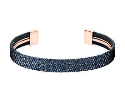 Brățară solidă strălucitoare placată cu aur roz SKJ1224998