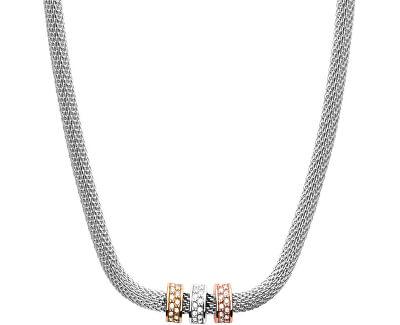 Tricolorbrățară din oțel cu cristale SKJ1306998