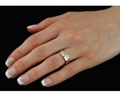 Snubní ocelový prsten pro ženy MARIAGE RRC2050-Z