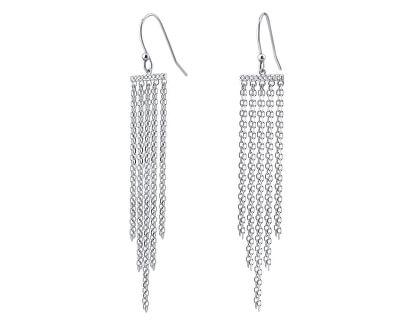 Dlouhé stříbrné náušnice Chiara JJJ0210E1