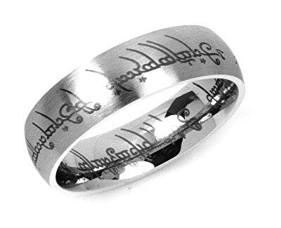 Silvego Ocelový prsten moci z Pána prstenů RRC2010