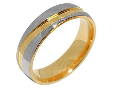 Silvego Snubní ocelový prsten pro muže a ženy MARIAGE RRC2050-M