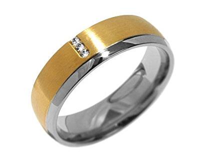 Silvego Snubní ocelový prsten pro ženy VIENNE RRC2046-Z