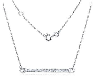 Stříbrný náhrdelník se zirkony VARSAMIA ZTJNF61006