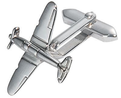 Starck Schmuck Manžetové knoflíčky Letadlo 35.494R