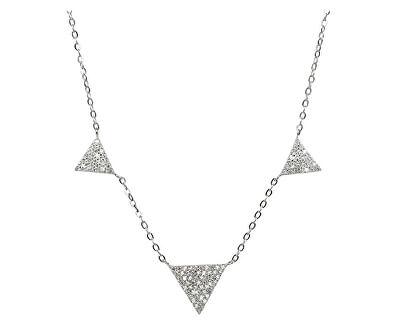 Stříbrný náhrdelník SNJ10