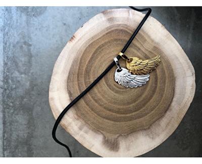 Dámský pozlacený přívěsek Andělské křídlo G2KS