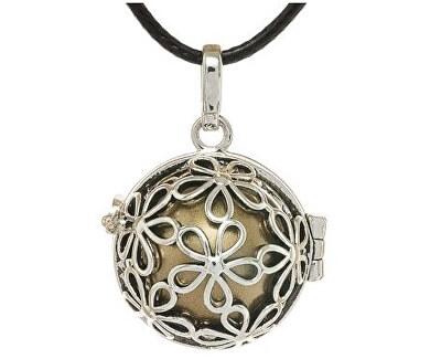 Dámský náhrdelník Rolnička Malé kytičky K2SH18