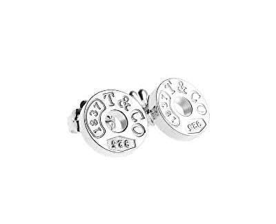 Luxusní stříbrné kruhové náušnice 19710424 + originální balení
