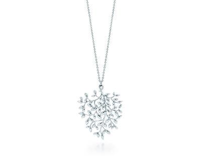 Luxusní stříbrný náhrdelník Paloma Picasso Olive Leaf 30120973 + originální balení