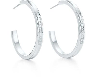 Luxusní stříbrné náušnice kruhy 25132807