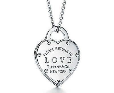 Luxusní stříbrný náhrdelník Return to Love 36340509