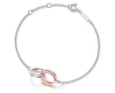 Luxusní stříbrný náramek 37088412