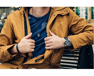 Brățară stilată pentru bărbați TH2700950