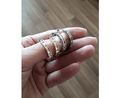 Bronzové dámske náušnice TH2780207