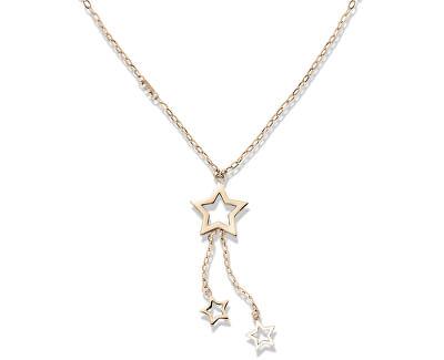 Bronzový náhrdelník s hviezdičkami TH2700849