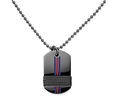 Tommy Hilfiger Čierny pánsky náhrdelník TH2700771