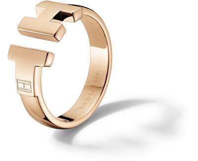 Luxusné bronzový prsteň z ocele TH2700862
