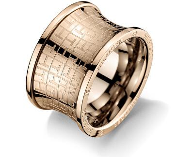 Originální bronzový prsten z oceli TH2700818