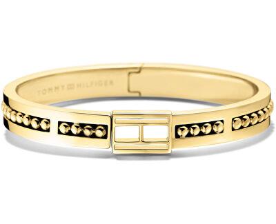 Pevný zlatý náramok TH2700846