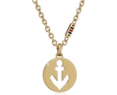 Pozlacený náhrdelník pro ženy TH2700928