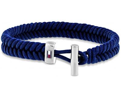 Trendy tmavě modrý nylonový náramek TH2701071
