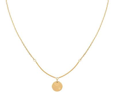 Slušivý pozlacený náhrdelník TH2780280