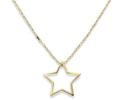 Zlatý náhrdelník s hviezdou TH2700851