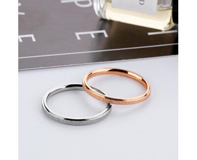 Inel lucios din oțel de culoarea bronzului