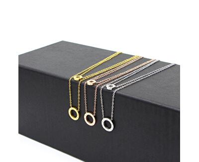 Dvojitý pozlacený náhrdelník
