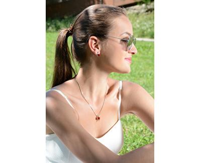 Sada náhrdelníku a náušnic Chaton Wave Light Siam