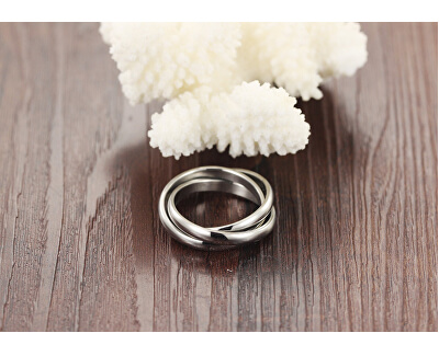 Trojitý ocelový prsten KRS-247