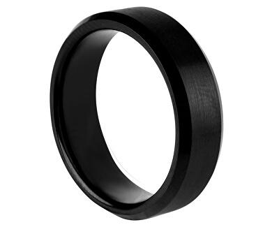 Černý wolframový prsten