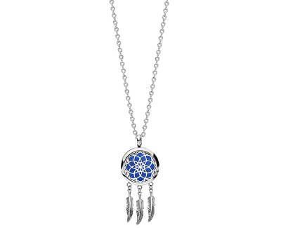 Multifunkční ocelový náhrdelník Lapač snů s vyměnitelným středem 132470