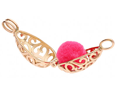 Multifunkční pozlacený náhrdelník s vyměnitelným středem 132466D
