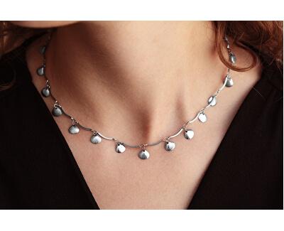 Mušličkový náhrdelník z oceli