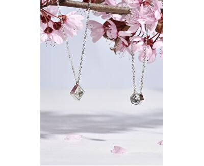 Ocelový náhrdelník s hexagonem