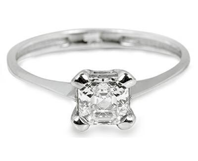 Troli Inel de logodnă din argint cu cristal 426 001 00 427 04